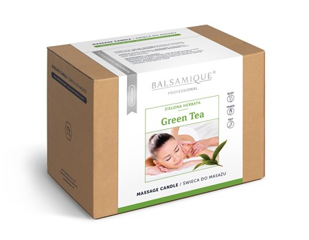 Świeca do masażu BALSAMIQUE GREEN TEA 170g